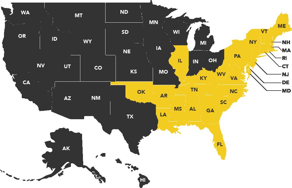 Sales Territory Map-01